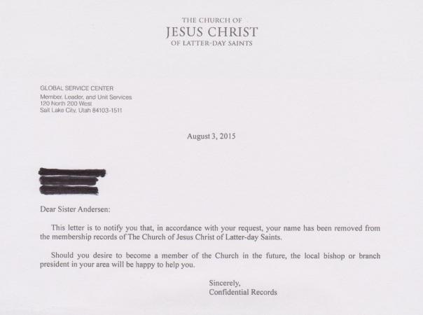 Letter-Confirmation